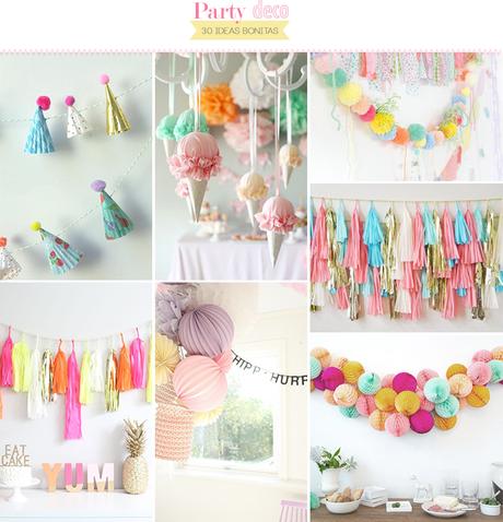 30 ideas para decorar una fiesta paperblog for Bazar decoracion