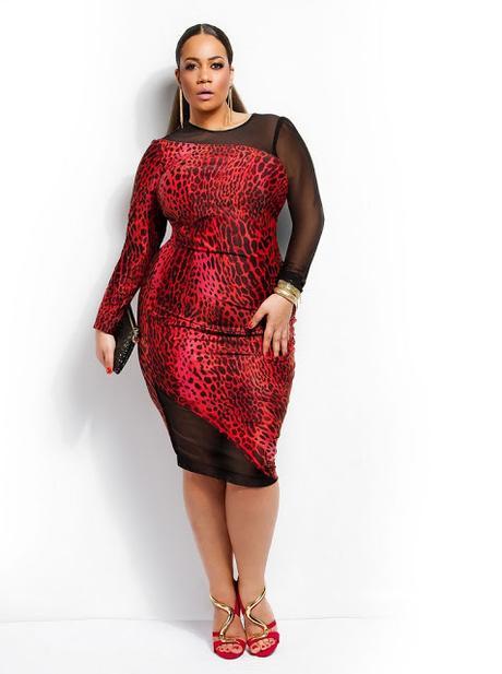 Vestidos Rojo Y Negro Para Gorditas Paperblog