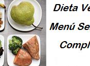Dieta vegana: menu semanal