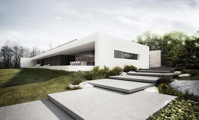 Proyecto casa minimalista en el lago nieslysz paperblog for Proyectos casas minimalistas