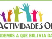 voté ActividadesOK vos? Ayudemos Bolivia
