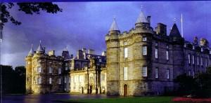 Palacio de Holyrood, Escocia.