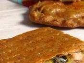 Empanada integral calabacin pavo