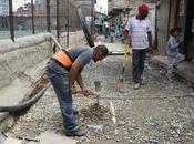 recreo ejecutan obras tuberias aguas servidas potables pinto salinas