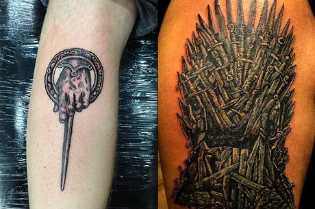 Tattoobooks 3 Juego De Tronos Paperblog