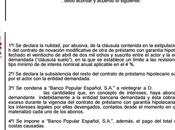 Nueva sentencia ganada nuestros abogados contra Banco Popular anulando otra cláusula suelo recuperando pagado