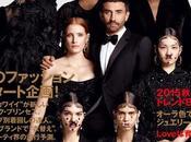 Kendall Jenner, Jessica Chastain, portada Vogue Japon Riccardo Tisci