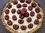 Cherry Tart (Tarta cruda cerezas)