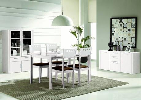 5 consejos para decorar un comedor moderno paperblog - Decorar muebles blancos ...