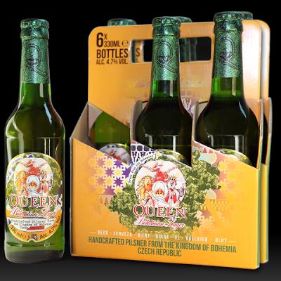 La nueva cerveza de Queen