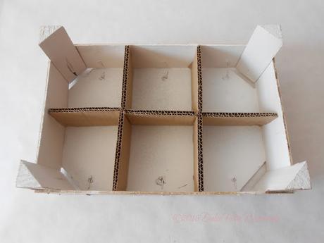 diy caja de madera con para bebidas