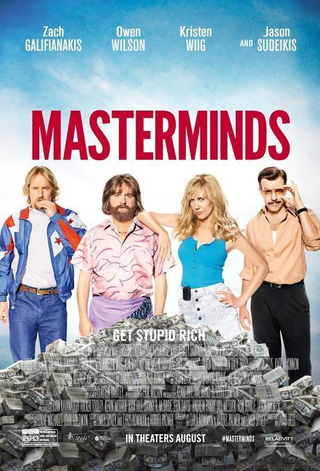 Primer Trailer + Póster De Masterminds