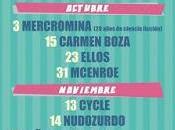 aniversario Ochoymedio Raemon, Ellos, McEnroe, Niños Mutantes, Cycle, Carmen Boza...