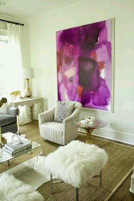 Ideas para decorar con cuadros XXL
