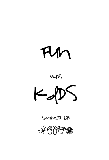 Empezamos Fun with Kids Summer 2015!