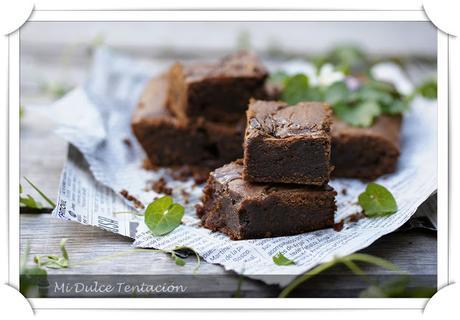 Brownie de Caramelo Salado