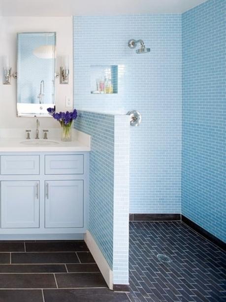 muebles de bao con lavabo de cristal baos pequeos como ganar espacio paperblog