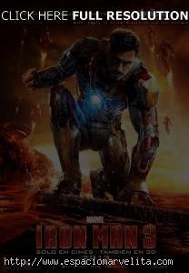 Póster latino de Iron Man 3