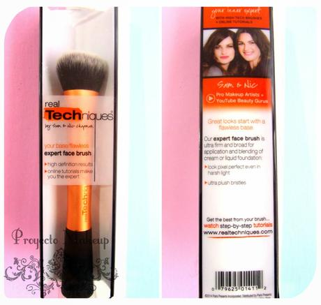 REVIEW REAL TECHNIQUES EXPERT FACE BRUSH