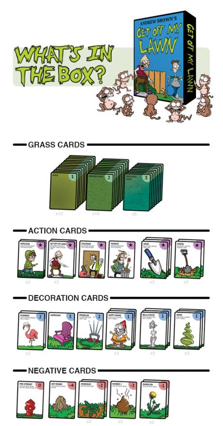 Get Off My Lawn: The Card Game, un juego rápido
