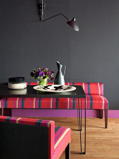 El color negro en la decoración de interiores