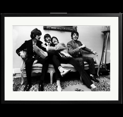 Exposición fotográfica sobre The Beatles en Barcelona