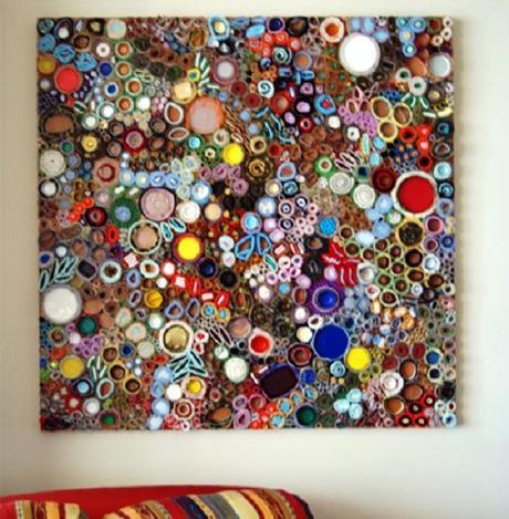 Decorar con cuadros grandes paperblog - Hacer cuadros originales para salon ...