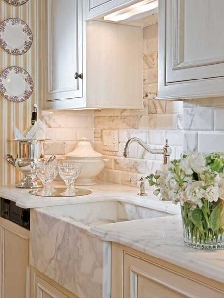 Encimeras de mármol; Una apuesta segura si quieres reformar tu cocina.