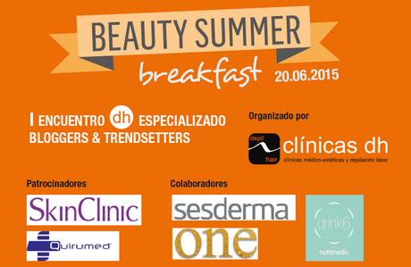 Mi vestido azul - Beauty summer breakfasta Clinicas DH (1)