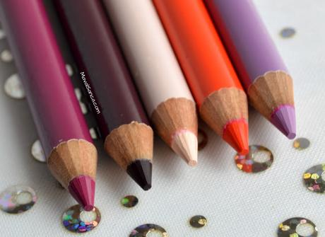 Delineadores de Labios Lip Liners MAKEUP REVOLUTION: Rebel - Depraved - Vice - Vamp - Nearly Naked