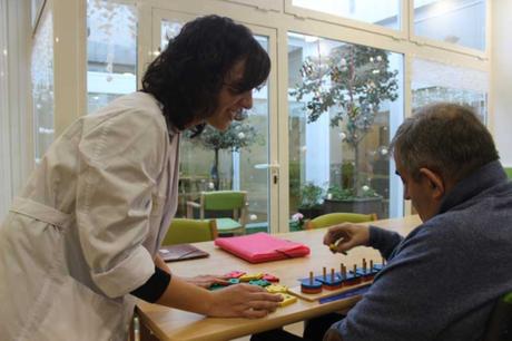 Ancianos con Alzheimer