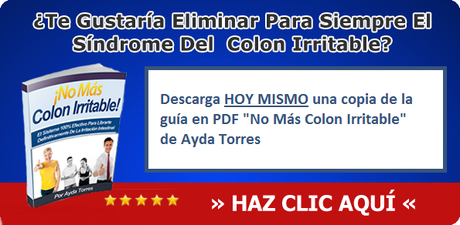 alimentos prohibidos colon irritable