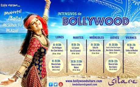 Intensivos de Bollywood verano 2015