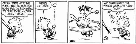 Calvin and Hobbes, Baseball (III)