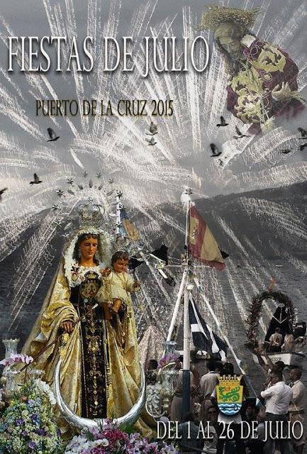 Fiestas de Julio Puerto de la Cruz 2015