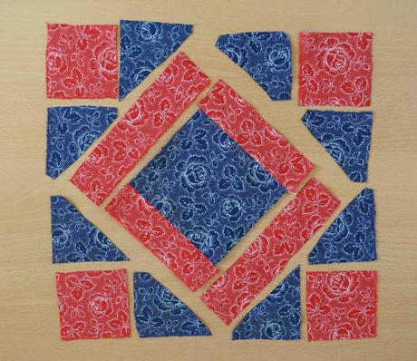 El bloque del mes: Friendship Block / Block of the month: Friendship Block