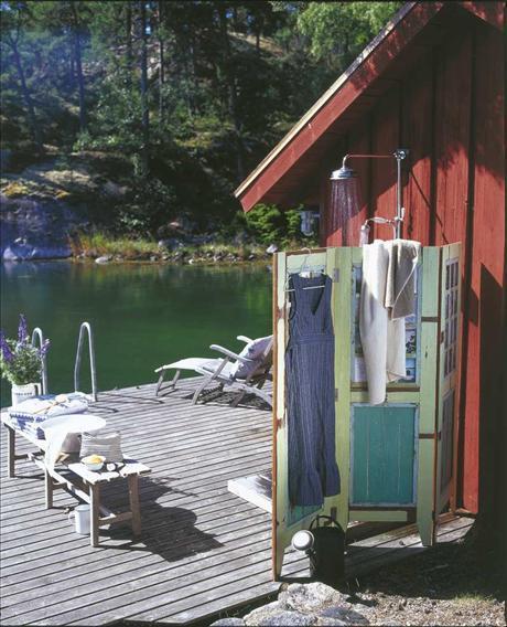 duchas para el exterior