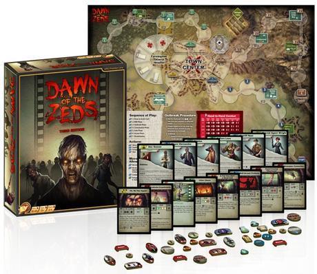 Dawn of the Zeds 3ª Edición ya en Kickstarter