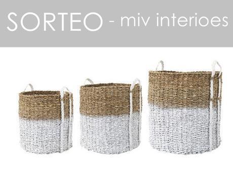 Decora con básicos y llévate este cesto nórdico de MIV INTERIORES DE REGALO!