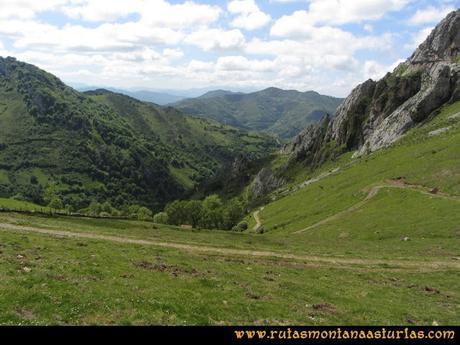 Ruta Les Campes Peña Mea: Collada Doñango