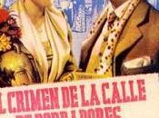 CRIMEN CALLE BORDADORES, (España, 1949) Intriga