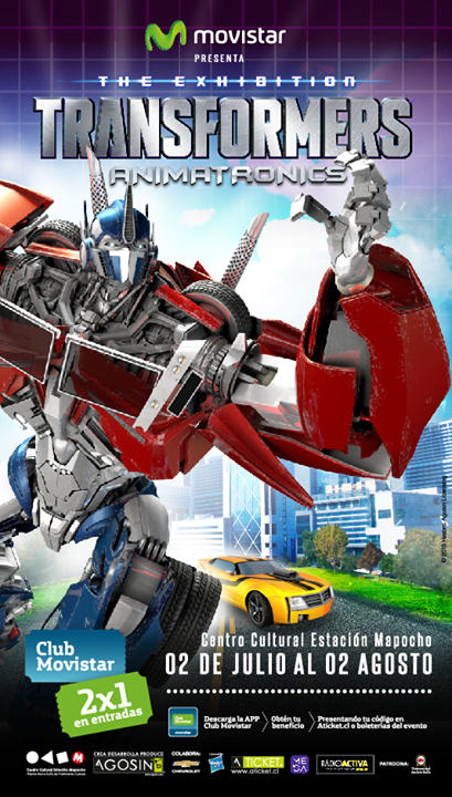 Gana una entrada doble para Transformers Animatronics: The Exhibition
