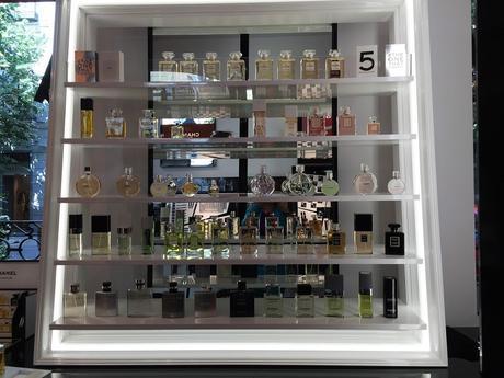Taller de maquillaje en la Pop Up Store de Chanel