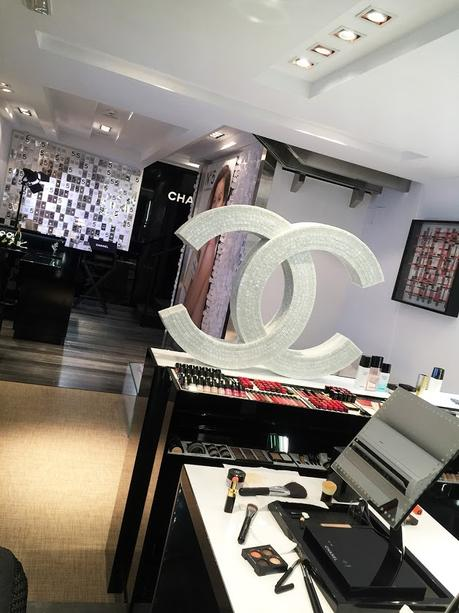 Taller de maquillaje en la Pop Up Store de Chanel