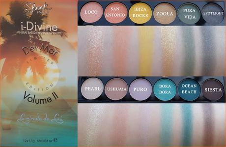 SLEEK, Paleta i-Divine, Del Mar Volumen II