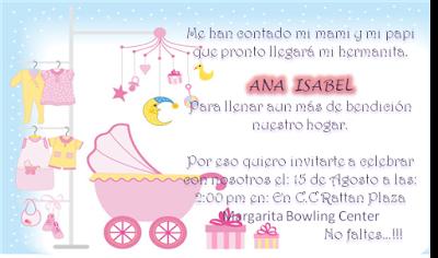 10 Invitaciones Para Baby Shower Niña Y Niño Paperblog