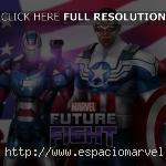 Sam Wilson y Iron Patriot en Marvel Future Fight