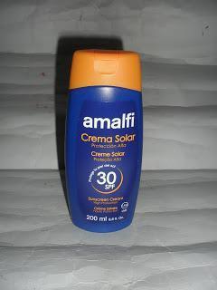 Imagen Crema solar SPF30 Ligera Amalfi