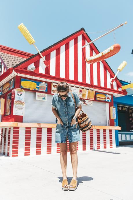 BoardWalk-Santa_Cruz-Denim_Dress-Topshop-Suede_Clogs-Street_Style-Outfit-29