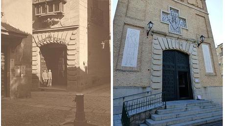 Historia de una puerta: de la calle Nueva a la avenida de Santa Bárbara